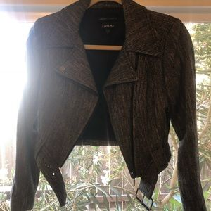 Tweed Bebe Crip Jacket